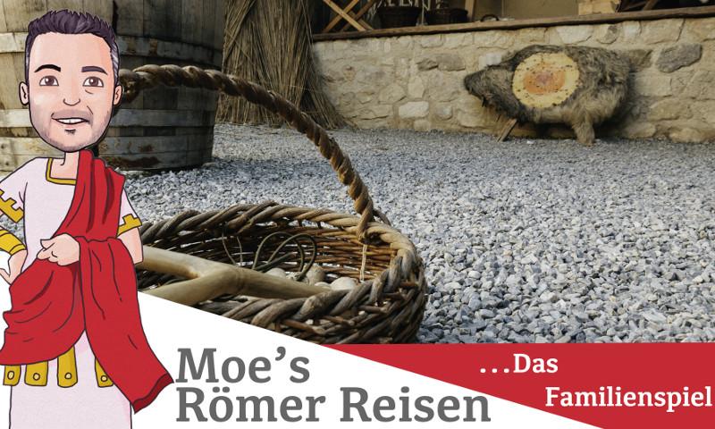 Moe hat sich auf den Weg gemacht und nimmt das Ferienspiel im Römischen Stadtviertel, dem Museum Carnuntinum und den Shuttlebus unter die Lupe.