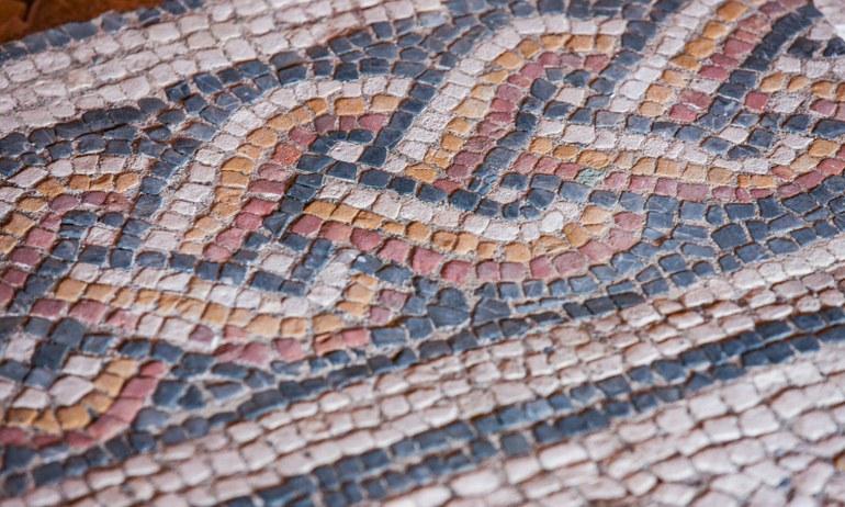 Bild: Mosaik in Carnuntum