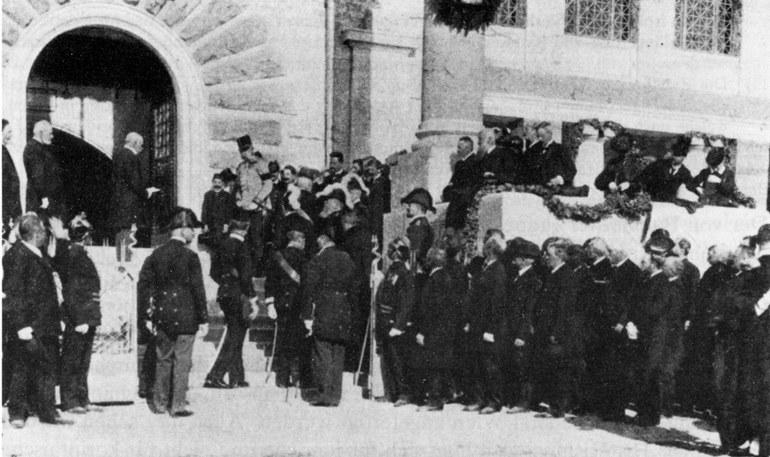 Eröffnung AMC 1904 (c)Land NÖ - Museum Carnuntinum, Bad Deutsch-Altenburg