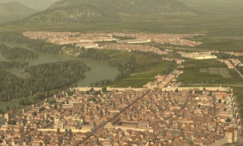 Carnuntum once ranked among the most important cities of the Roman province Pannonia. Built as a stronghold against the Barbaricum on the other side of the Danube Limes, it also was a crossover point of the Amber Road and occupied a major strategic, political and economic role.