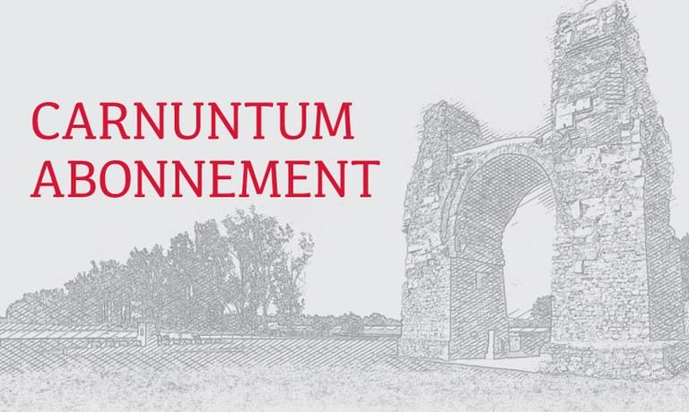 Vyberte sa na prieskumy do Mesta Rimanov a k regionálnym partnerom s predplatným Carnuntum Abonnement a využívajte počas celej sezóny 2020 exkluzívne výhody abonenta!