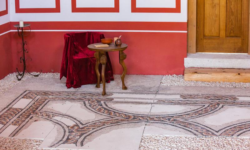 Im dritten Teil unserer Mini-Serie werfen wir einen Blick in das fast fertige Haus und widmen uns dem Innenausbau römischer Häuser.