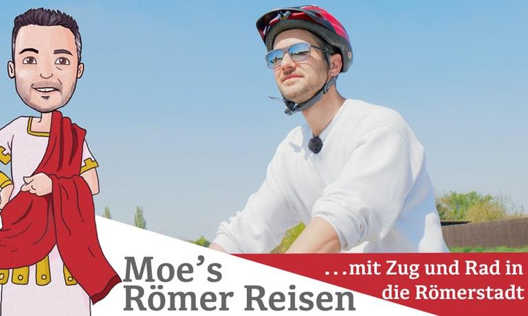 Moe startet seinen Ausflug dieses Mal in Wien und reist mit der Schnellbahn an. Danach gehts mit dem Fahrrad auf Erkundungstour.