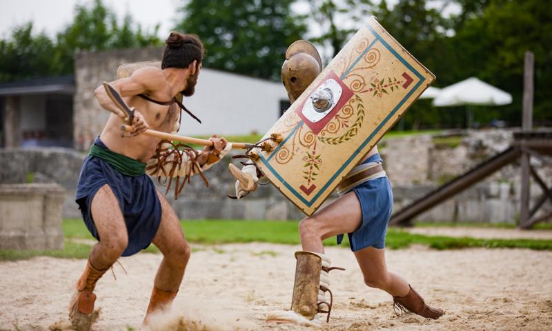 Carnuntums eigene Gladiatorentruppe wurde 2015 gegründet und ist seither ein absolutes Highlight bei Großveranstaltungen in der Römerstadt.