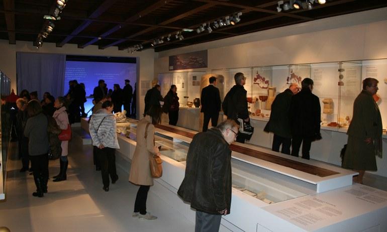 Eine professionelle Lagerung ermöglicht Ausstellungen wie die aktuell zu sehende 'Der Adler Roms'