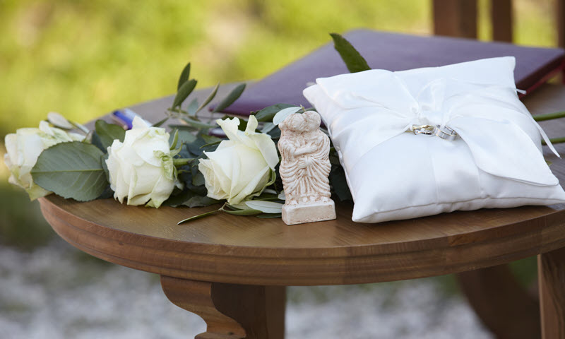 Be it a civil wedding ceremony in the villa urbana or a splendid wedding banquet in the elegant Roman baths – Carnuntum makes your wedding day an experience you will fondly remember your whole life long.