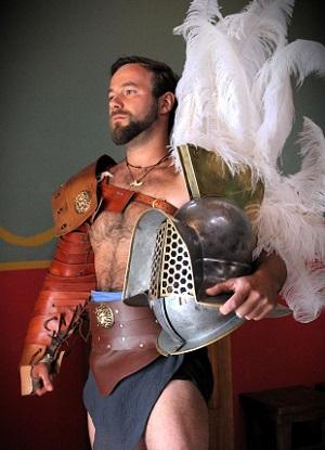 Pri jednej rímskej trestnej výprave proti Kvádom som bol zranený a zatknutý. Otrokár ale objavil môj potenciál bojovníka a predal ma do ludu.