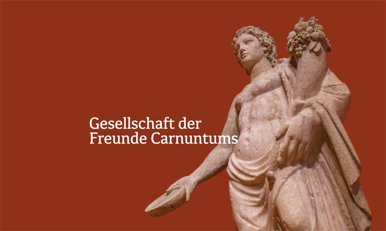 Základným kameňom pri budovaní vedeckého výskumu v Carnunte bolo založenie GFC – Spoločnosti priateľov Carnunta v roku 1885. Spoločnosť patrí k najstarším spolkom, s najbohatšou tradíciou na podporu tohto archeologického výskumu a sprístupňovanie informácií o Carnunte pre širokú verejnosť.
